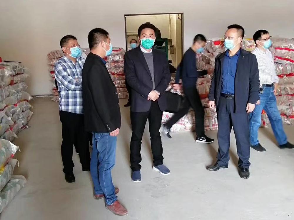 高安市市委书记袁和庚莅临公司调研